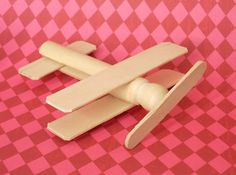 Another clothes pin airplane