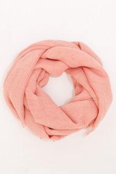 #Oran Scarf in Pink  #Fashion #New #Nice #WinterClothes #2dayslook  www.2dayslook.com