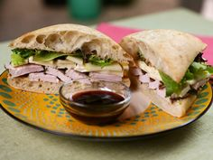 Try this recipe for Roasted Turkey, Apple and Brie Sandwich with Plum 'Jus' from Kimberly's Simply Southern featured on GAC!