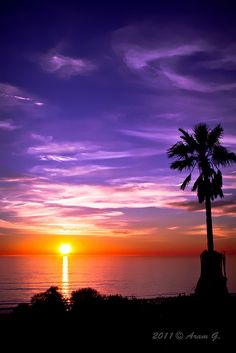 Sunset, Santa Monica, California