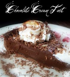 Chocolate Cream Tart {Dorie Greenspan TWD}