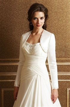 Long sleeves Satin #Bolero & #Shawls Style Code: 06803 $49