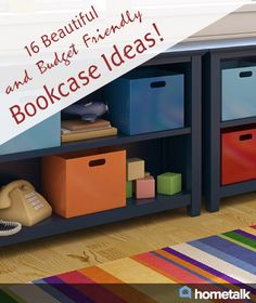 16 Beautiful and Budget Friendly Bookcase Ideas