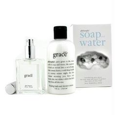 Philosophy Pure Grace Soap and Water Gift Set (Spray Fragrance 2 Ounce, Bath/Shower Cream 8 Ounce) (Misc.)
