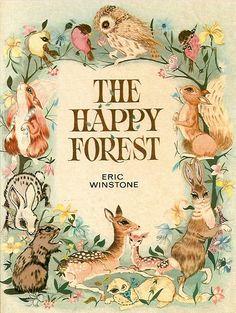 Vintage children's book illustration.  So cute!