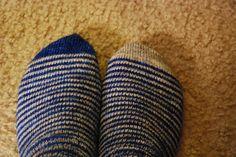 christineA's fred & george socks