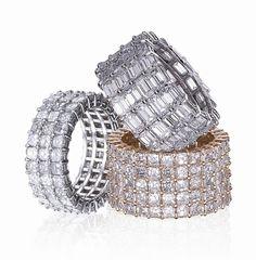Rina Limor diamond wedding bands