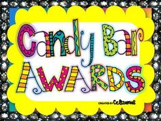 End of Year Classroom Candy Bar Awards- Fun Activity for the last day of school!