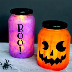 Make an easy Halloween craft with supplies you already have on hand!