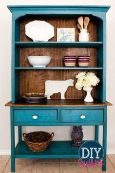 #DIY kitchen hutch. #MustHave