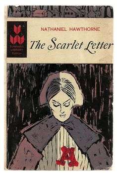 The Scarlet Letter by Nathaniel Hawthorne - Vintage Classic Novel Book $6.00