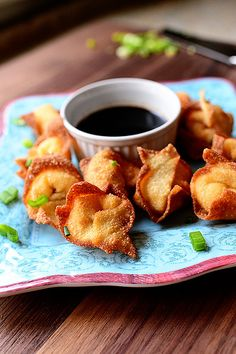 Cream Cheese Wontons! Perfect for a party.