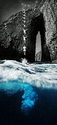 Cliff Diving #Redbull dive redbul, cliff diving, cliff dive