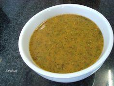 La cocina de sebeair: SALSA CHIMICHURRI PARA CARNES Y BARBACOAS (thermomix)
