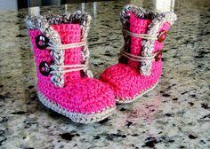 Crochet Baby BootiesCrochet Baby BootsBaby BootiesBaby by LaylaJae