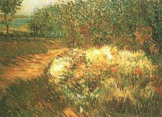 Corner of Voyer d'Argenson Park at Asnieres by Vincent van Gogh