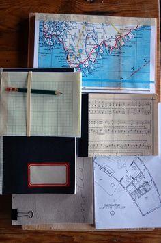 DIY Scrap Paper Journals