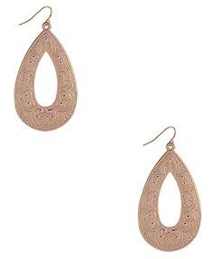 bohemian teardrop earrings