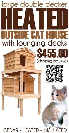 ... , Large Double, Cat Naps, Cat Houses, Individual Hands, Double Decker