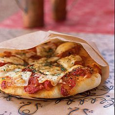 Herbed Cheese Pizza  | CookingLight.com