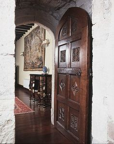 Castle Door - Chateau de Nemours 12th Cen France - 1238HC
