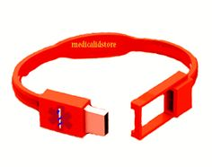 USB MEDICAL ALERT BRACELET. Stores your (or your whole families) emergency medical Information.