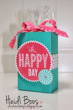 Stuck on Stampin': SS INK - happy day box