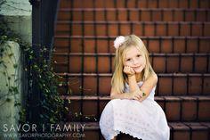 little girl pose