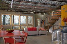 Vacation Home on Lake Michigan, #LEED Platinum, Holland, Michigan by John Allegretti of Allegretti Architects