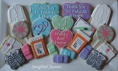 images of baking themed cookies | Medical Themed Cookies |