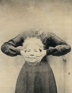 "I found a bunch of spooky 19th century ""headless"" portraits. I got the idea from pottery barn fall catalog. Here's a site that I printed from. Will frame with dollar store frames and place around front porch. here's the link  blubabalu.blogspo..."