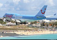 Corsairfly Boeing 747-422 Philipsburg / St. Maarten - Princess Juliana (SXM / TNCM) St. Maarten, March 2009