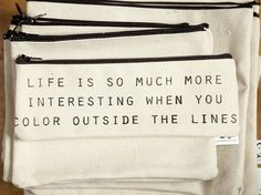 life, colors, interest quot, wisdom, true, inspir, barski pouch, bags, interest bag