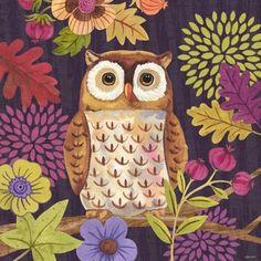 'Autumn Woodland Owl' by Jennifer Brinley