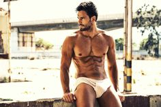 Hector Del Pino Shirtless by Rafa G. Catala