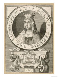 King of France  Louis VI | Adele Queen of Louis VI le Gros King of France. Ancestors