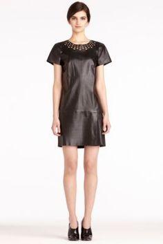 DVF   Yvanna Dress In Black, Pre-Fall 2012: Macadam Diva