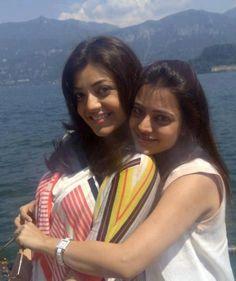 Kajal with her sister