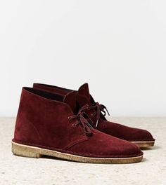 desert boot burgundi desert, american eagl, clark origin, desert boot, clarks, men fashion, origin desert, deserts, boots