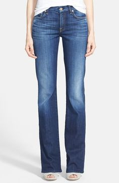 7 For All Mankind® 'Kimmie' Bootcut Jeans (Aggressive Heritage Blue)   Nordstrom