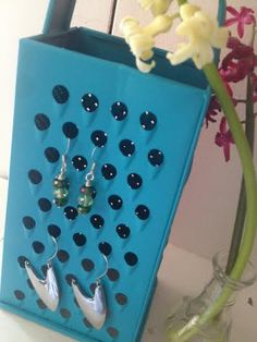 Upcycled Jewelry Holder  - great gift idea!