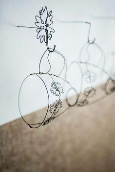 Cups and hooks! (Helaina Sharpley Wirework Artist)