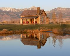 Home, home on the range.....Cabin Design, Pictures, Remodel, Decor and Ideas