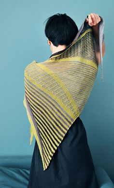 Ravelry: Les Sillons pattern by polo sylvie libraries, patterns, sylvi colorwork, shawl, crochet craft, knit, ravelry, les sillon, polo sylvi