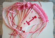 Valentine's banner by PamKittyMorning, via Flickr