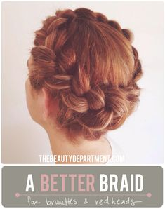 a major trick to getting a better braid! on thebeautydepartment.com
