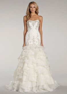 Bridal Gowns, Wedding Dresses by Lovelle By Lazaro - Style LL4411