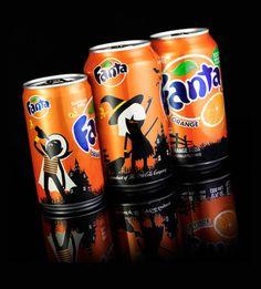 Soft drinks undergo Halloween makeover