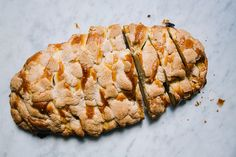 A cozy fruit-packed, streusel-topped loaf to get you out of bed on these chilly fall mornings.