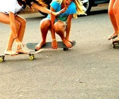 girls on boards